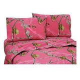 Realtree All Purpose AP Fuchsia Sheet Set Full - Back40Trading2