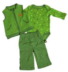 John Deere Boys Fleece Layette Set (3 Piece) - Back40Trading2