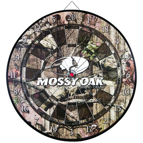 Signature Products Group Coiled Fiber Dartboard, Mossy Oak, 18-Inch - Back40Trading2
