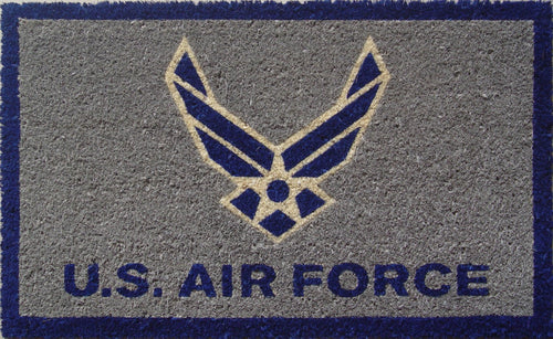 S&D US Air Force Coir Door Mat - Back40Trading2