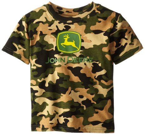 John Deere Little Boys' Trademark Short Sleeve Tee - Back40Trading2