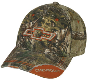 Chevy Realtree Xtra/Orange Hunting Cap - Back40Trading2