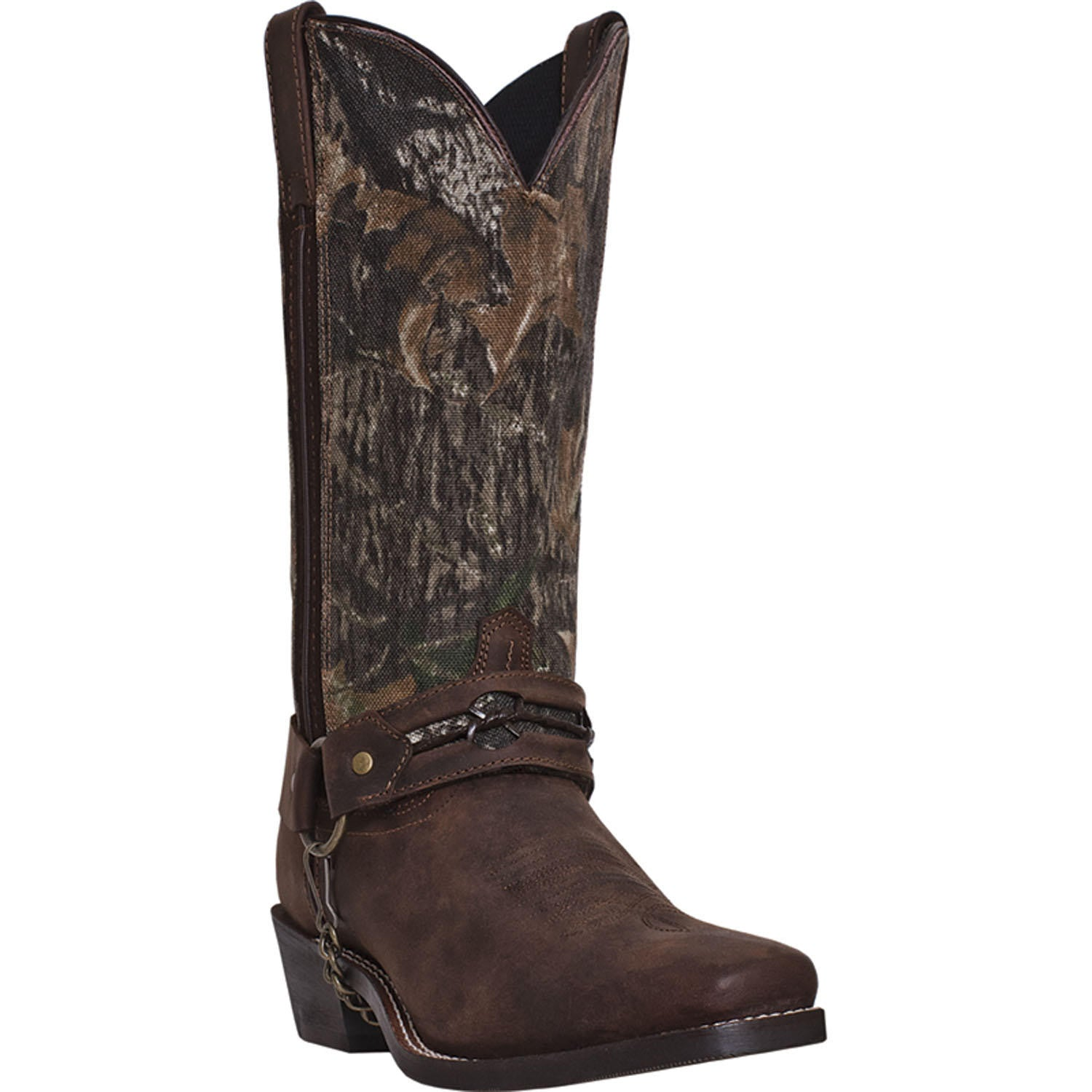 LAREDO MEN'S  LEATHER HITCH GAUCHO - MOSSY OAK