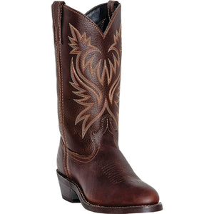 LAREDO MEN'S  LEATHER PARIS COPPER KETTLE - back40trading2