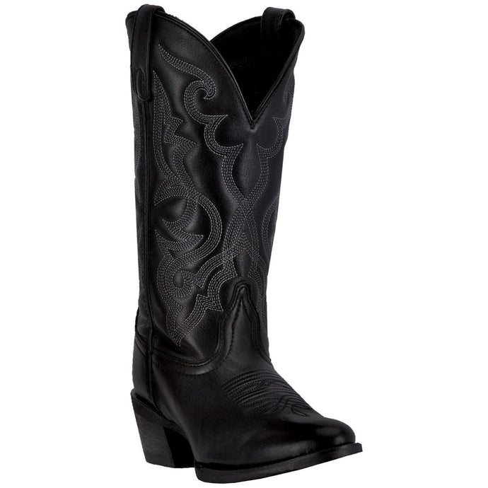 LAREDO WOMEN'S  LEATHER MADDIE BLACK - back40trading2