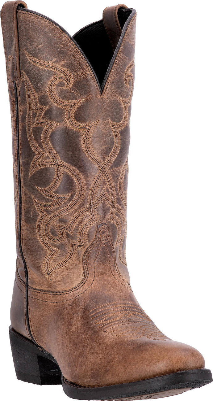 LAREDO WOMEN'S  LEATHER MADDIE TAN - back40trading2