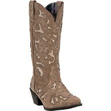 LAREDO WOMEN'S  LEATHER SHARONA TAN - back40trading2