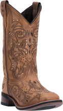LAREDO WOMEN'S  LEATHER JANIE TAN - BROWN - back40trading2