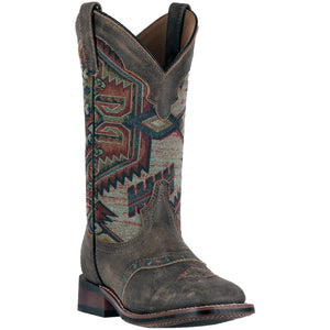 LAREDO WOMEN'S  LEATHER SCOUT BROWN - MULTI - back40trading2
