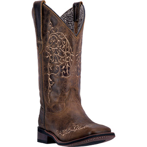 LAREDO WOMEN'S  LEATHER IVY TAUPE - back40trading2
