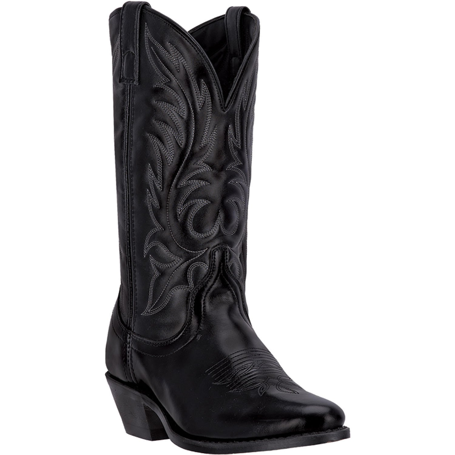 LAREDO WOMEN'S  LEATHER KADI BLACK