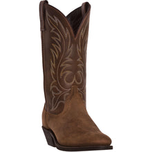 LAREDO WOMEN'S  LEATHER KADI TAN - back40trading2
