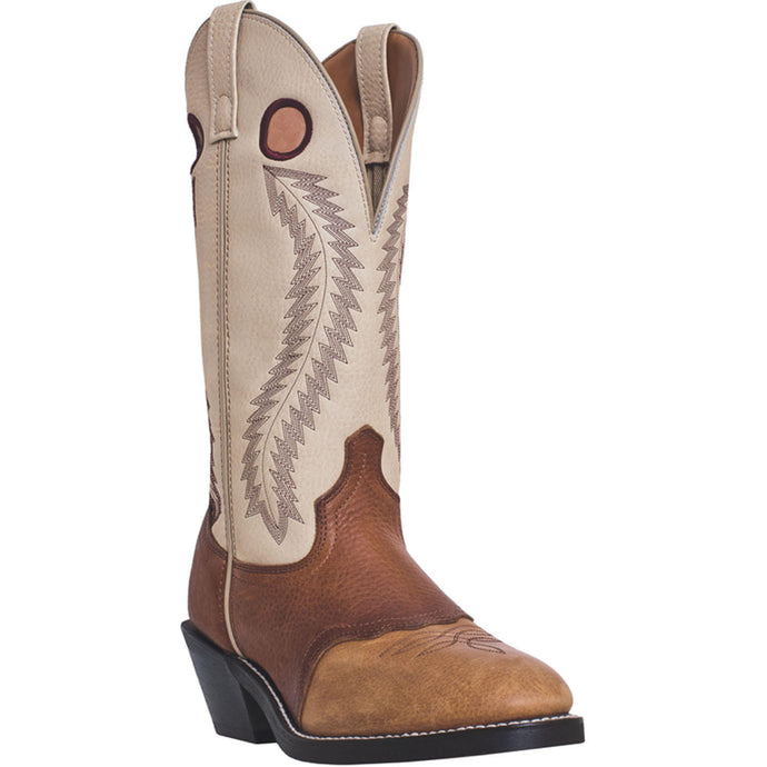 LAREDO MEN'S  LEATHER KNOXVILLE TAN AND BROWN - BONE - back40trading2