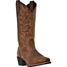 LAREDO MEN'S  LEATHER PIOMOSA VINTAGE TAN - back40trading2