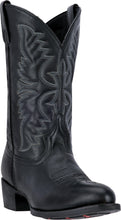 LAREDO MEN'S  LEATHER BIRCHWOOD BLACK - back40trading2