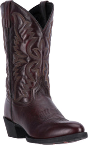 LAREDO MEN'S  LEATHER BIRCHWOOD BLACK CHERRY - back40trading2