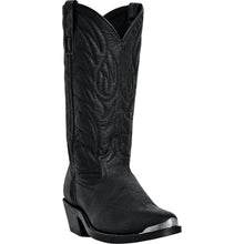 LAREDO MEN'S  LEATHER EAST BOUND BLACK - back40trading2