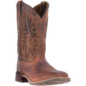 LAREDO MEN'S  LEATHER DURANT RUST - back40trading2