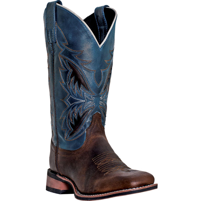 LAREDO MEN'S  LEATHER RAZOR BRANDY - NAVY