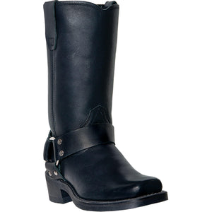 DINGO WOMEN'S  LEATHER MOLLY BLACK - back40trading2
