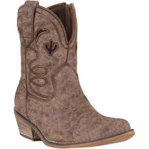 DINGO WOMEN'S  LEATHER ADOBE ROSE TAUPE - back40trading2