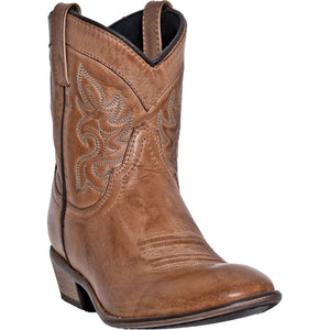 DINGO WOMEN'S  LEATHER WILLIE ANTIQUE TAN - back40trading2