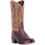 DAN POST MEN'S  LEATHER GREER BROWN - TAN