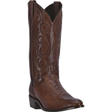 DAN POST MEN'S OSTRICH BELLEVUE ANTIQUE TAN- back40trading2 - 1