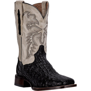 DAN POST MEN'S CAIMAN DENVER BLACK - BONE- Back40Trading2 - 1