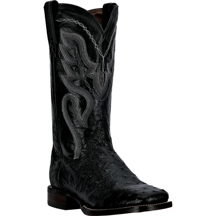 DAN POST MEN'S OSTRICH CHANDLER BLACK- back40trading2 - 2