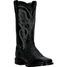 DAN POST MEN'S OSTRICH CHANDLER BLACK- back40trading2 - 1