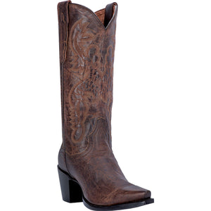 DAN POST WOMEN'S LEATHER MARIA BAY APACHE- back40trading2 - 2