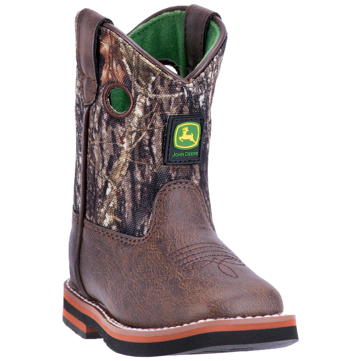 JOHN DEERE INFANT'S  MAN-MADE JOHNNY POPPER INFANT BROWN - MOSSY OAK