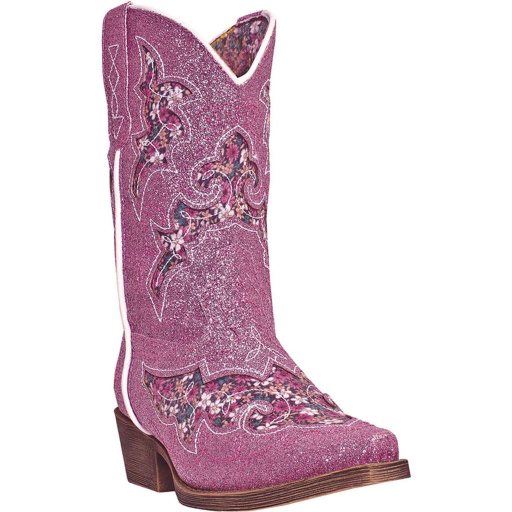 LAREDO CHILDREN'S  MAN-MADE GLITTERACHI PINK