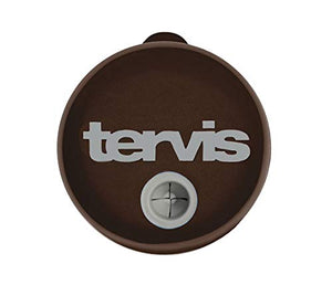 Tervis Straw Lid For 24 oz Tumbler and Mug - Packaged, Brown with Gray