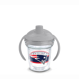 Tervis Tumbler NFL New England Patriots 6oz Sippy Cup with Grey Lid