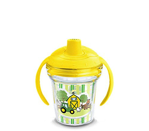 Tervis Tumbler John Deere 6oz Sippy Cup with Yellow Lid- back40trading2