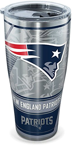 Tervis 30 oz. Stainless Steel Patriots Tumbler Tervis One Size- Back40Trading2