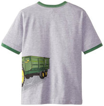 John Deere Little Boys' Husky Short Sleeve Tractor Graphic Tee - Back40Trading2  - 2