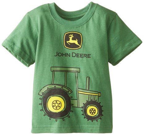 John Deere Baby Boys' Tractor Graphic Short Sleeve Tee