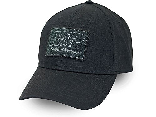 540 Brands Smith & Wesson Ripstop Patch Hat in Black -back40trading2