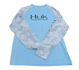 Huk Subphantis Double Header Vented Long Sleeve Shirt
