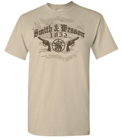 Smith & Wesson Men's Firearms T-Shirt - Back40Trading2  - 1
