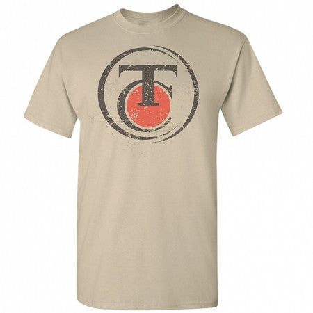 Thompson/Center Men's Distressed Logo Sand T-Shirt - Back40Trading2