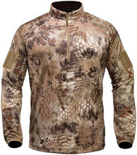 Kryptek Valhalla Long Sleeve Zip- Back40Trading2 - 4