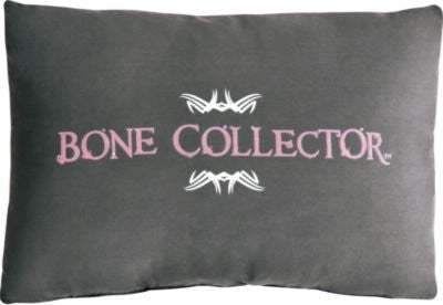 Bone Collector Pink Oblong Pillow - Back40Trading2