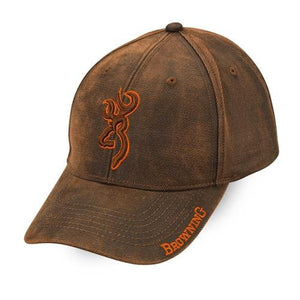 Browning Rhino Cap, Brown - Back40Trading2