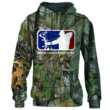 Major League Bowhunter Men's Aim Sweatshirt, Realtree Xtra