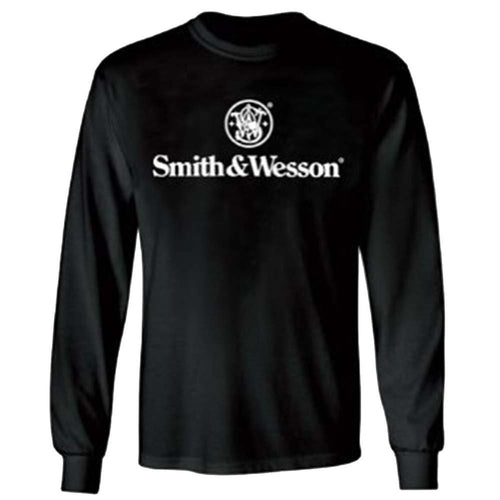 Smith & Wesson Men's Logo Long Sleeve T-Shirt - Back40Trading2