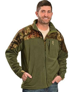 Browning Men's Steep Fleece Clover Jacket - Back40Trading2  - 1